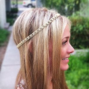 Elegant Beaded Headband