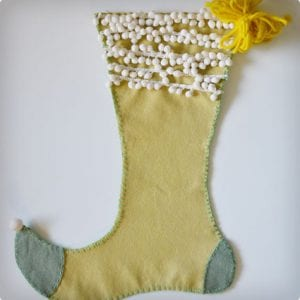 Elf Boot Stockings