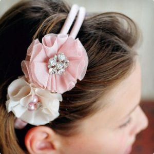 Flower and Jewels Headband Tutorial