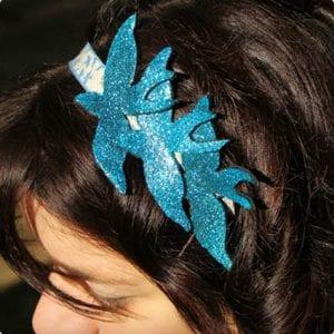 Flying Swallows Headband