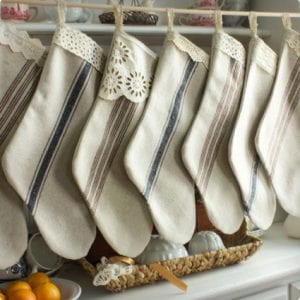 French Grain Cloth Stockings