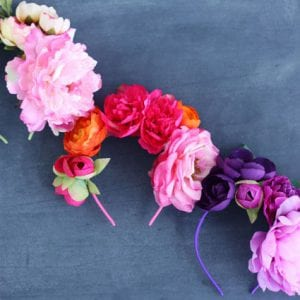 Incredibly Simple Faux Flower Headband