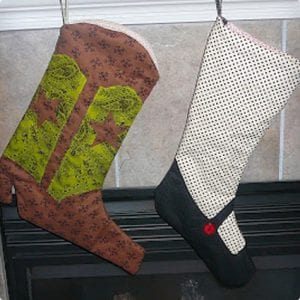 Inspired Cowboy Stocking