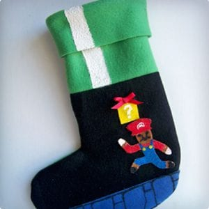 Mario Themed Stocking