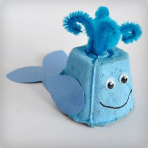 Mini Egg Carton Whales