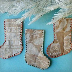 Paper Bag Stockings