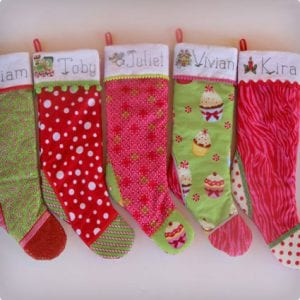 Personalized Embroidered Stockings