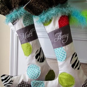 Positively Whimsical Stockings