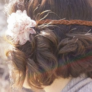 Quick & Easy Leather and Floral Boho Headband