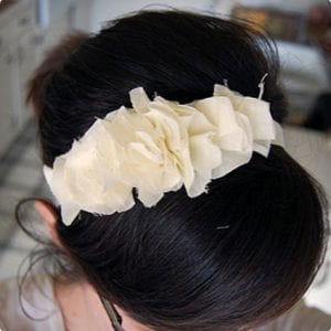 Ruffly Headband Tutorial