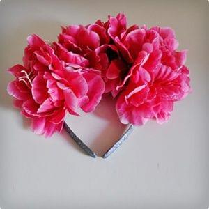 Simple Full Faux Flower Headband