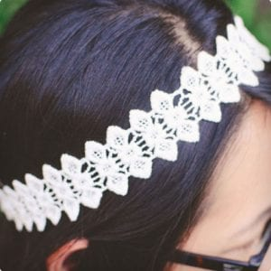 Simple Lace Headband