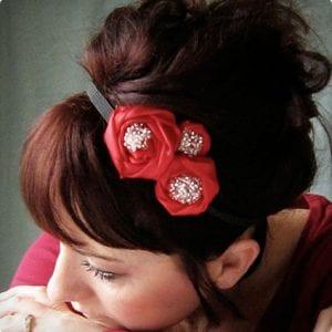 Simple Ribbon Holiday Headband