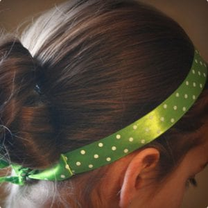 Simple Ribbon and Elastic Hairbands