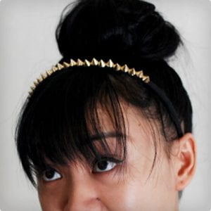Simple Studded Headband