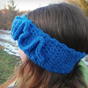 Snake Winter Crochet Headband