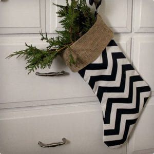 Totally Easy DIY Stockings