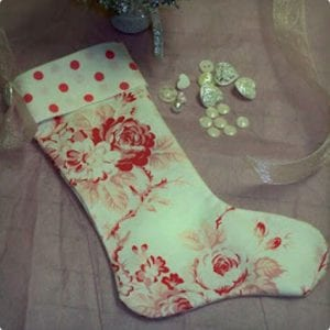 Ultra Simple Homemade Stocking Design