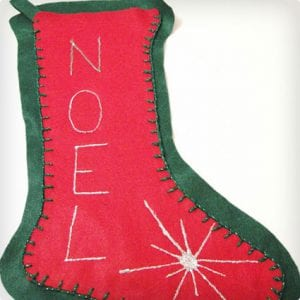 Very Easy Felt Stockings