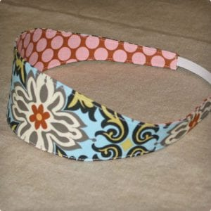 Wide and Narrow Cloth Headband Tutorials
