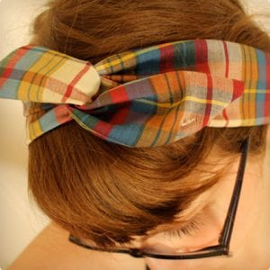 Wire and Cloth Headband