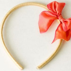 Wrapped Headband and Pretty Bow Tutorial