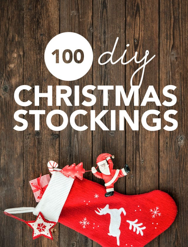 Don't get one of those mass-market stockings this year! Instead, create your own homemade Christmas stockings and make a lifetime of memories.