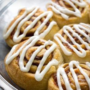 5 Ingredient Cinnamon Rolls