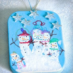 5 Simple Snowmen Crafts For Kids