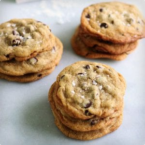 Adapted New York Chocolate Chip Cookies