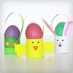 Animal Shaped Mini Easter Baskets