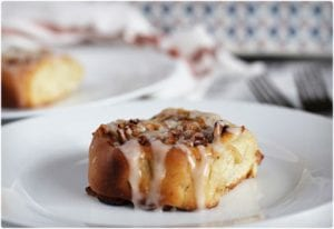 Apple and Pecan Cinnamon Rolls