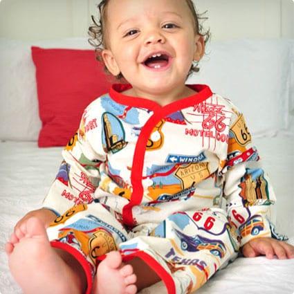 Baby Pajama Button Shirt and Pants