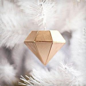 Balsa Wood Diamond Ornamebt Tutorial