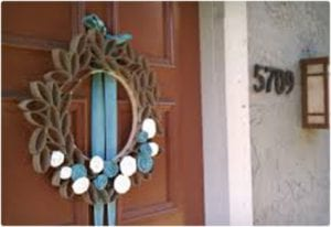Beautiful Spring Wreath Made From Toilet Paper Rolls