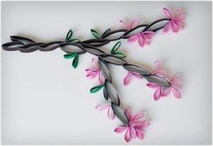 Beautiful Wall Art Cherry Blossoms