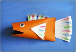 Big Fish Toilet Paper Roll Craft