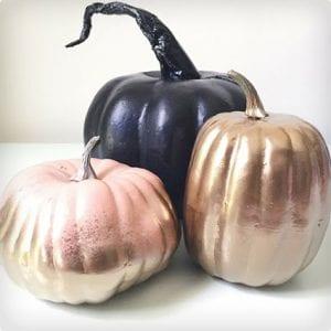 Cheap Pumpkin Makeover Tutorial