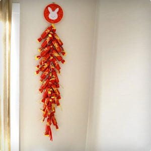 Chinese New Year Firecracker Craft