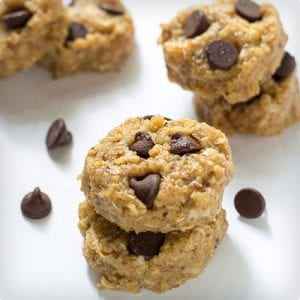 Chocolate Chip and Peanut Butter No Bake Cookies