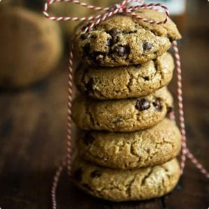Chocolate Chunk Cookies With Browned Butter