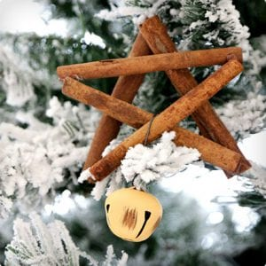 Cinnamon Stick Ornaments With Bells