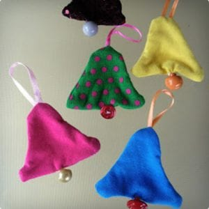 Cloth Bell Ornament Tutorial