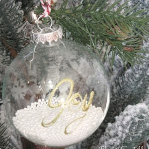 DIY Memory Ornaments