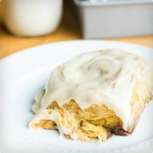 Doughy Sweet Potato Cinnamon Rolls