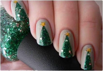 Easy Sparkly Christmas Tree