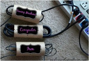 Electrical Cord Organizers