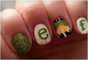 Elf Inspired Nail Art