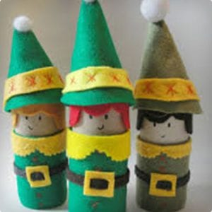 Felt Elves Craft