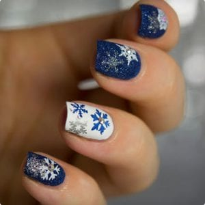 Festive Snowflake Stamps